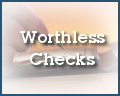 Worthless Check Unit